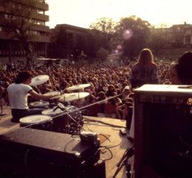 Charity rock concert
